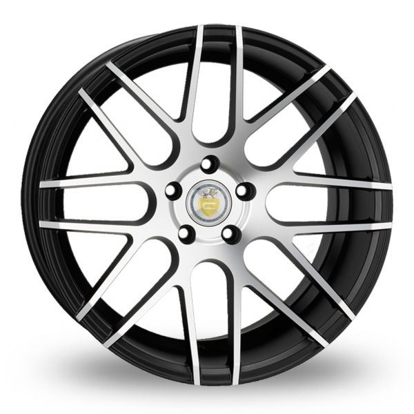 Picture of 18 Inch Cades Artemis Polished Wider Rear Alloy Wheels