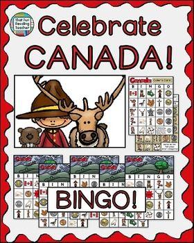 Celebrate #Canada with this Canada BINGO game! #NewProductDiscount