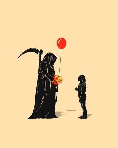 Grim Reaper - Don't be afraid little girl...