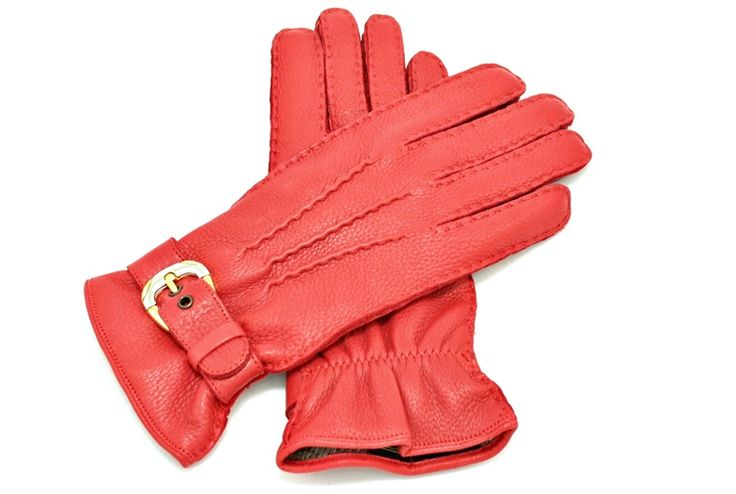 Deer leather gloves from alpagloves.com Code: 1-FAR3-1-4 RED