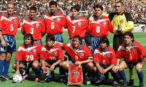 Chile en Francia 98