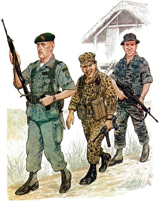 Major, US Special Forces, 1966 • Private, Civilian ...