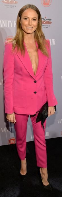 Pink pants, and blazer