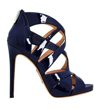 My FAVORITE Navy strappy heels of 6 years from Zara RIPd this past year. Time to find a new pair.  :(