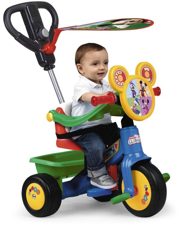 TRICICLO MICKEY MOUSE DISNEY. FABRICADO POR FEBER 700012545, IndalChess.com Tienda de juguetes online y juegos de jardin