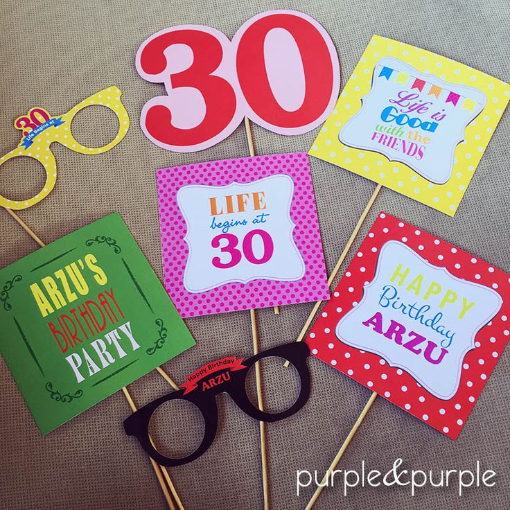 doğum günü mesajları | parti gözlükleri | 30 yaş doğum günü | 30th birthday