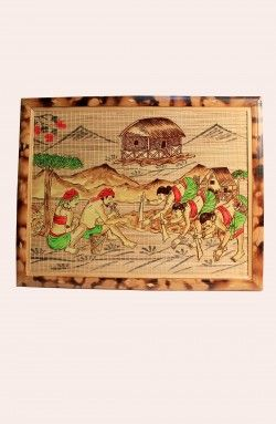 Handcrafted Wooden Painting