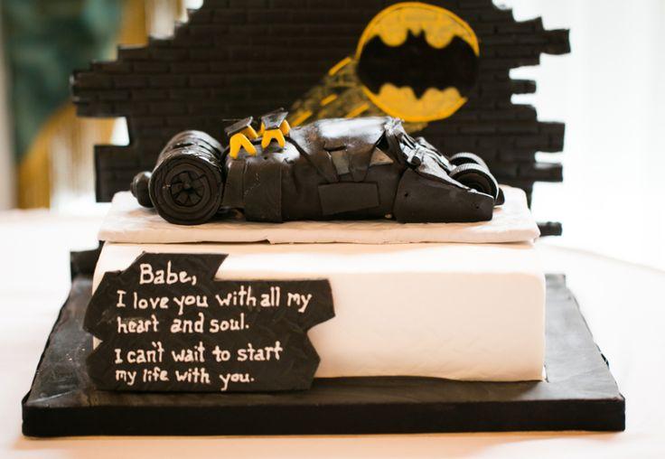 Groom Batman cake