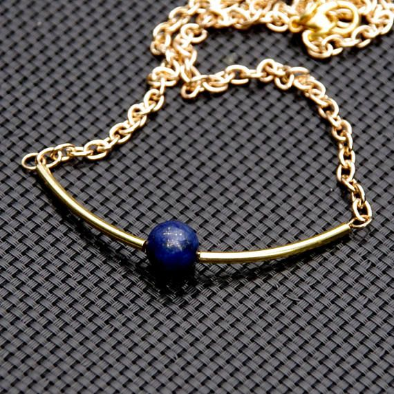 Collana di lapislazzuli lapis gioielli gioielli egiziani