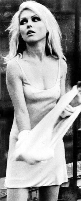 """Debbie Harry. True rock n roll diva. I remember getting Parallel Lines for my 7th bay. She had the original """"ombré"""" platinum n black."""