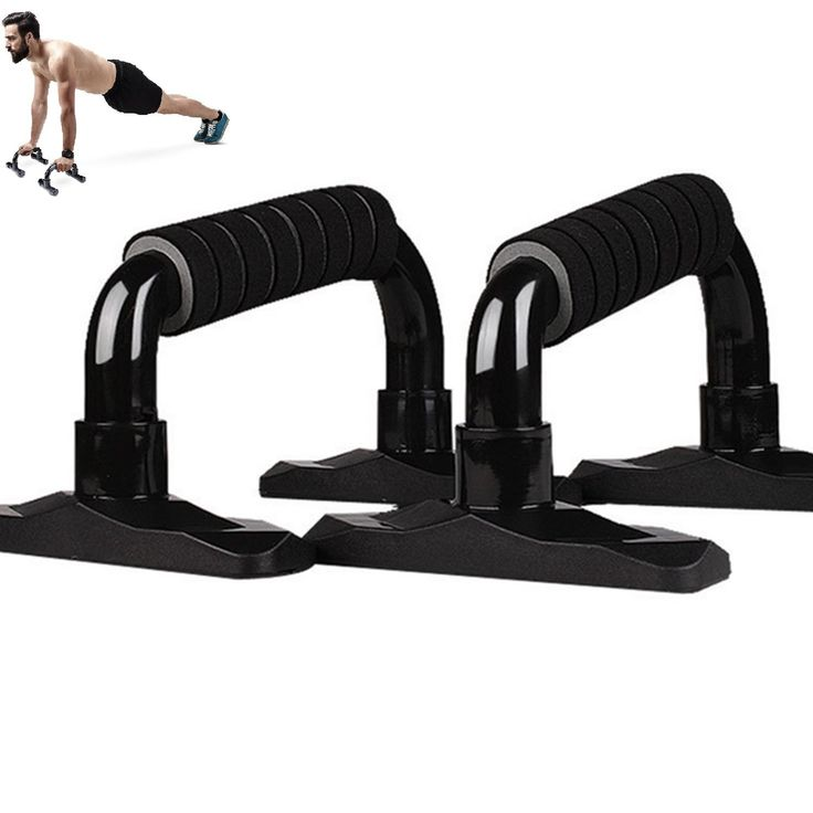 Pushup Stands, Push Up Bars for Strength Training, Black, Gym Home Work Out. COMFORTABLE, NON-SLIP GRIP for Safety - the push up bars with nonslip grip and base provides a comfortable grip and keeps bars in place on most surfaces. No worry for slipping. STRONG YET LIGHTWEIGHT - Push-up bars constructed of Eco-friendly TPE for superior strength; lightweight for ease of portability; no moving parts to wear out. It can hold 661.39 Lbs. More Efficient Workout: The Angled push up stand bar...