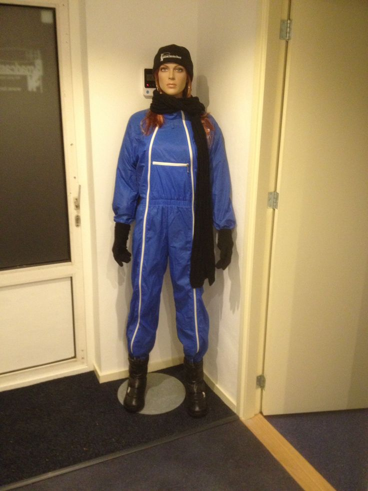 My quiet girl in K-way coverall