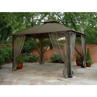 Patio Gazebos And Canopies | Sears Canopies Screened Tent 10 X 20 Pictures