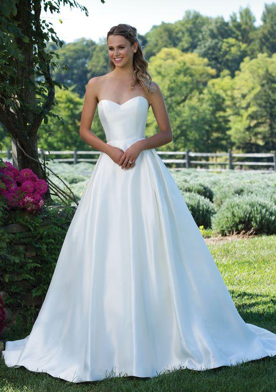 Sincerity Bridal Style 3997 Pełna Suknia Princeska Z Mikado Z