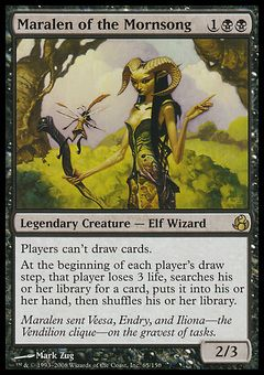 Maralen of the Mornsong ($3.58) Price History from major stores - Morningtide - MTGPrice.com Values for Ebay, Amazon and hobby stores!