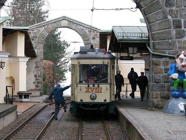 The Pöstlingbergbahn is a narrow-gauge railway that climbs up the steep incline of the Postlingberg hill in the northern part of Linz.  Starting from the centre of Linz in one of the main squares, the sublime old railway winds its way steadily (But steeply – it is one of the steepest in the world) to the top of Postlingberg and during the trip you can see the cityscape of Linz and plenty of beautiful scenery.