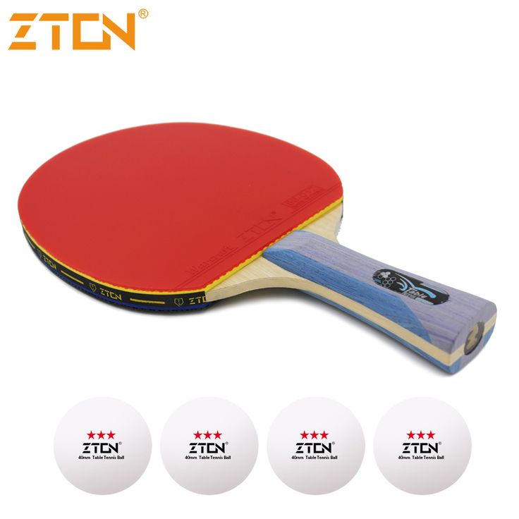 Table tennis racket Pimples-in rubber Ping Pong Racket bat for attack and loop drive at near table low price 995 #Affiliate