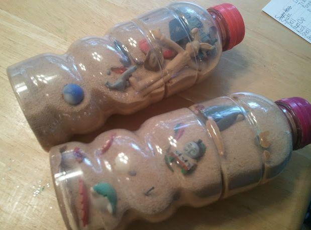 """DIY """"I-Spy"""" Bottles"""