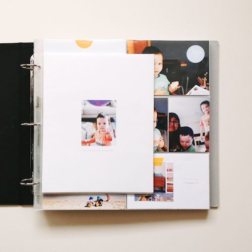 A focus on photos and words keeps Project Life super simple for Pink Ronnie // The boys' individual Project Life albums – An overview