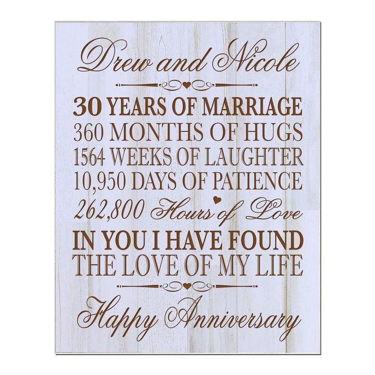 16 Year Wedding Anniversary Gift Ideas For Him: Best 25+ 30th Anniversary Gifts Ideas On Pinterest