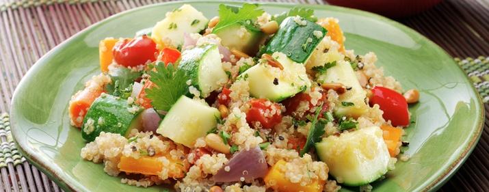 Cumin Spiced Quinoa with Vegetables | PESAJ | Pinterest | Quinoa ...