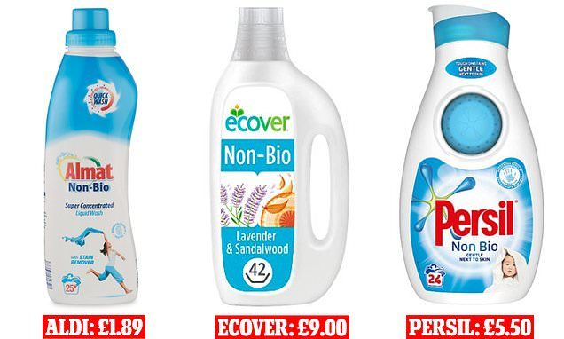 Aldi S Laundry Detergent Is As Good As Ecover And Persil Laundry