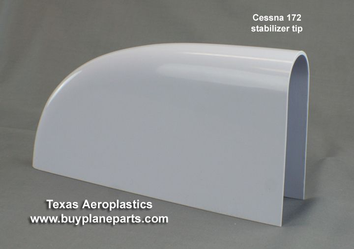 "BuyPlaneParts.com is Aircraft Parts - ""BEST VALUE"" in Cessna 172 Stabilizer Tips (Left or Right) (1963-1986)(Includes 172R and 172S models) 28-10-80A, 0532001-93, $83.29 (http://www.buyplaneparts.com/best-value-in-cessna-172-stabilizer-tips-left-or-right-1963-1986-includes-172r-and-172s-models-28-10-80a-0532000-93/)"