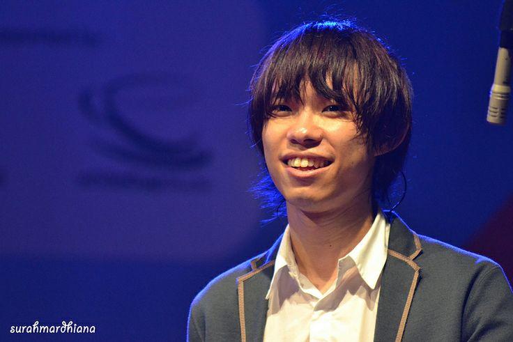 Toru's smile