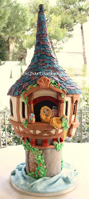 Rapuzel's Tower Cake