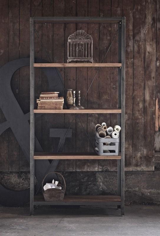 Sika-Design+-+Shelly+Reol+-+Originals+fra+Sika+Design+-++Smart+reol+i+en+kombination+af+stålramme+og+hylder+i+teaktræ.+Reolen+er+udført+i+et+råt+industrielt+design+og+vil+passe+perfekt+ind+i+det+moderne+køkkenalrum,+stuen+eller+i+arbejdsværelset.+Kombiner+med+flere+reoler+og+få+endnu+mere+opbevaringsplads+eller+anvend+som+praktisk+rumdeler.+