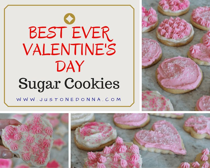 Make these copycat Cheryl's sugar cookies with buttercream frosting for a sweet Valentine's Day treat.