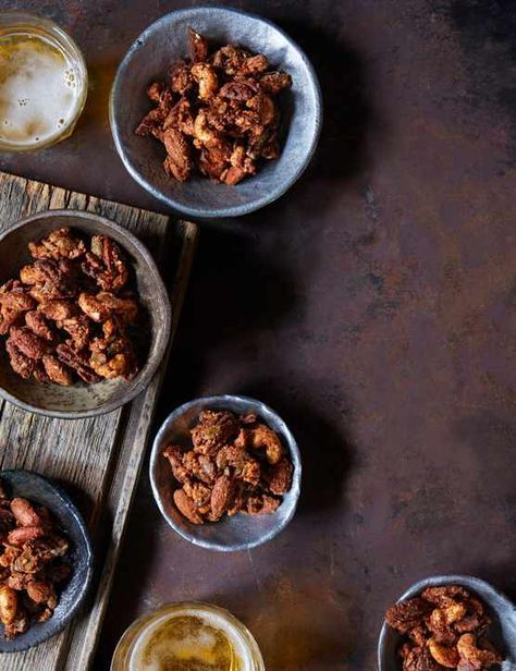 These Marmite glazed nuts and seeds are seriously addictive and perfect for a quick snack. If you like Twiglets you'll love this salty savoury mix.