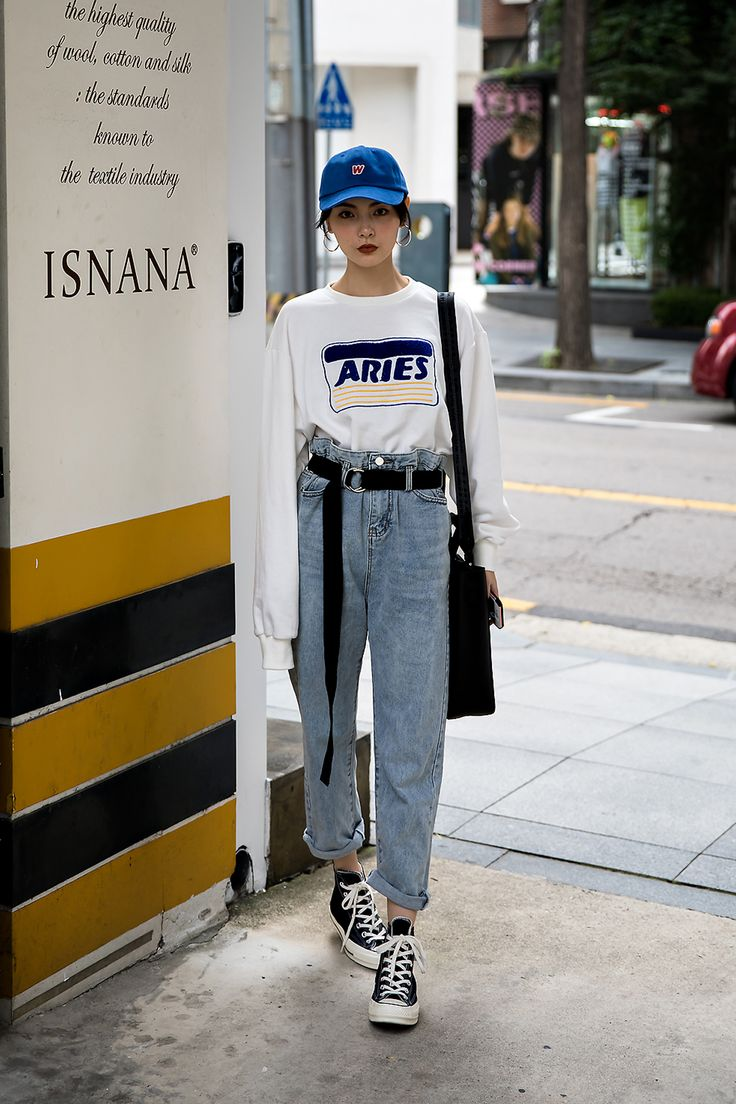Jelly Zhao, Street Fashion 2017 in Seoul