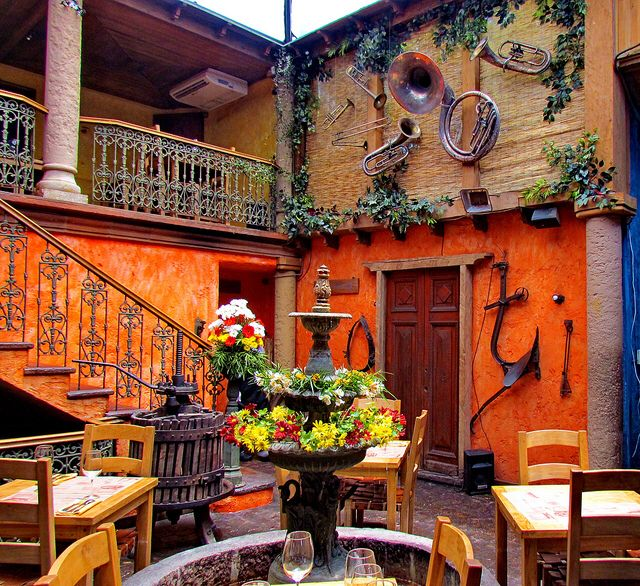 Not your typical Mexican cuisine...in Santiago at Como Agua Para Chocolate #restaurants #santiago #chile
