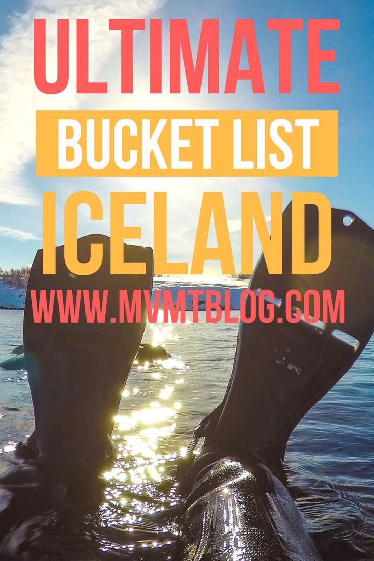 Iceland in the winter is a beautiful place with lots of one of a kind activities. We love it so much that we've been to Iceland twice in the winter already! Click through now to find out our top 5 bucket list experiences in Iceland in the winter or pin for later!