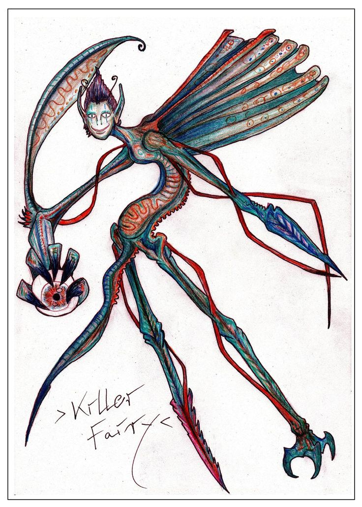 Killer Fairy by MickMcDee.deviantart.com on @DeviantArt
