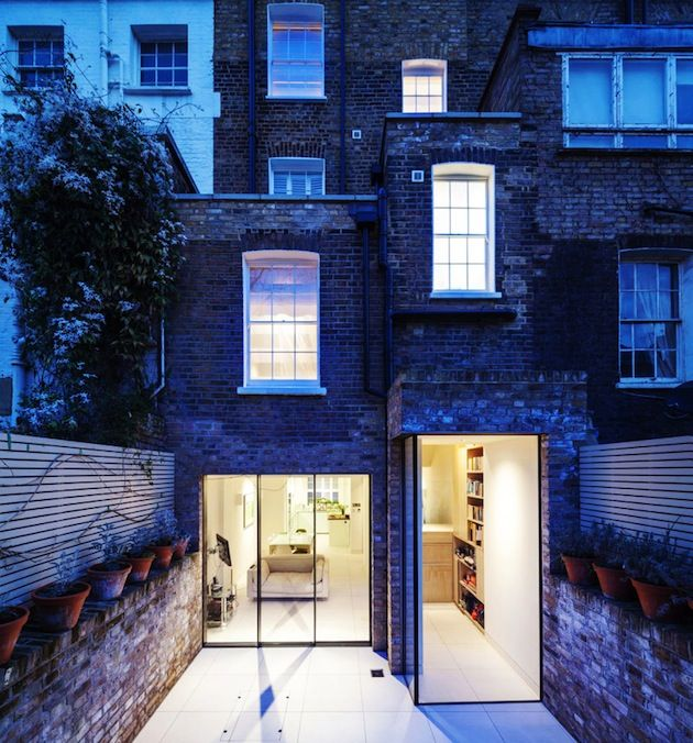 Chelsea Townhouse Remodeled To Incorporate Secret Furniture