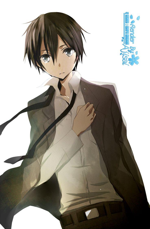 Render Sword Art Online - Renders Sword Art Online Kirito Kazuto Kirigaya Garcon Costume Cravate Larmes