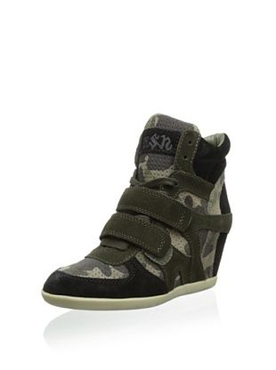 50% OFF Ash Women's Bea Bis Sneaker (Black/Topo)