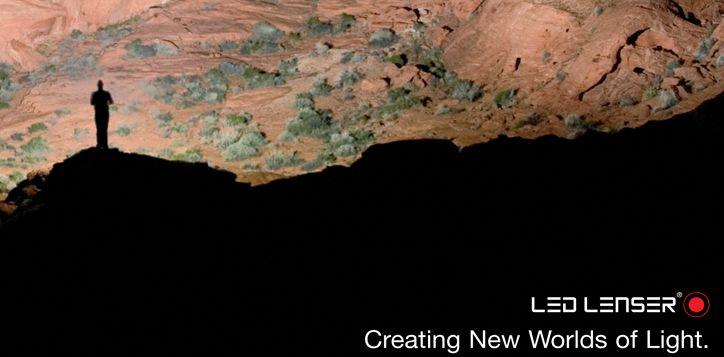 Led Lenser Products at www.Voyager-shop.gr