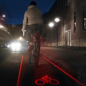 Projecteur laser de piste cyclable pour vélo - What the fuck - amazon.com