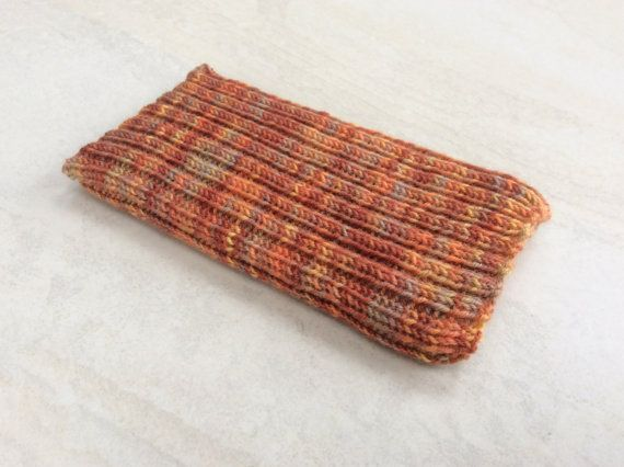 Knitted iPhone sock for 7 6 or 6S smartphone cover case