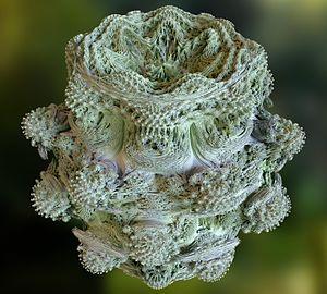 Power 8 mandelbulb fractal overview - Φράκταλ - Βικιπαίδεια
