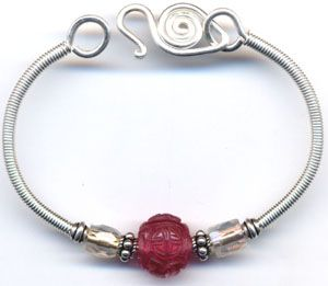 How to Make Coiled and Twisted Wire Bracelet Tutorials
