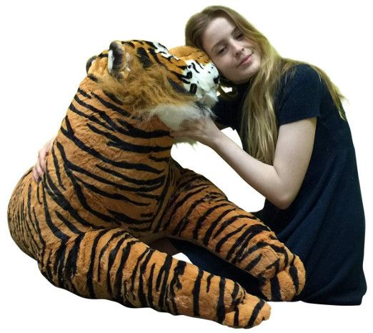 Giant Stuffed Tiger Toy