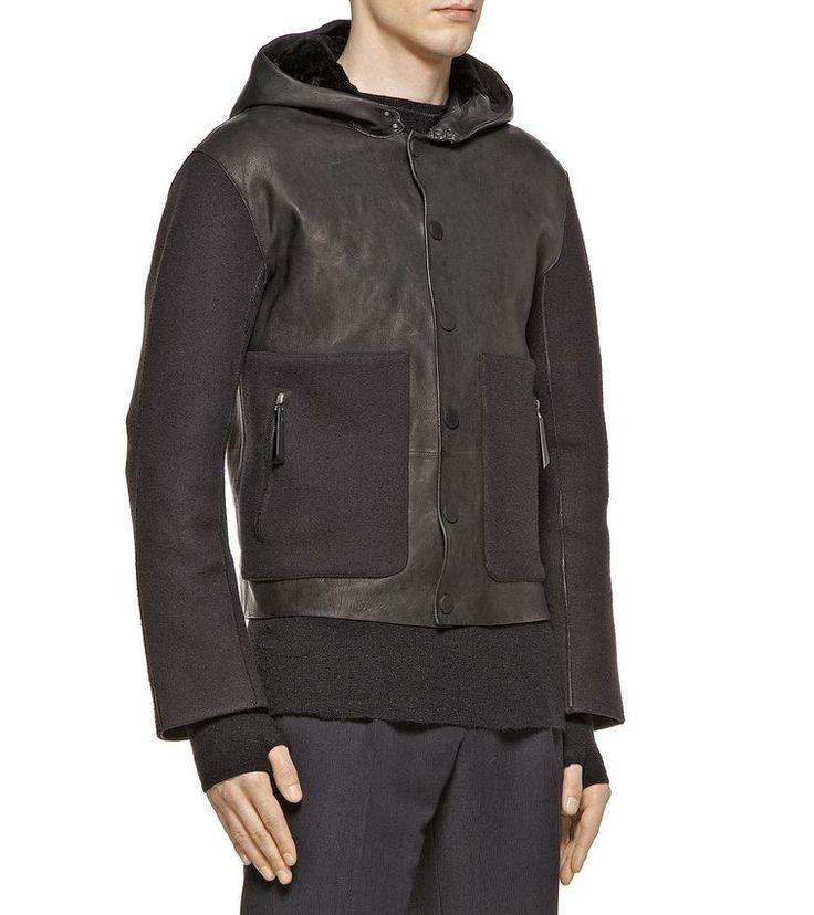 ZZEGNA OUTERWEAR Leather outerwear Men
