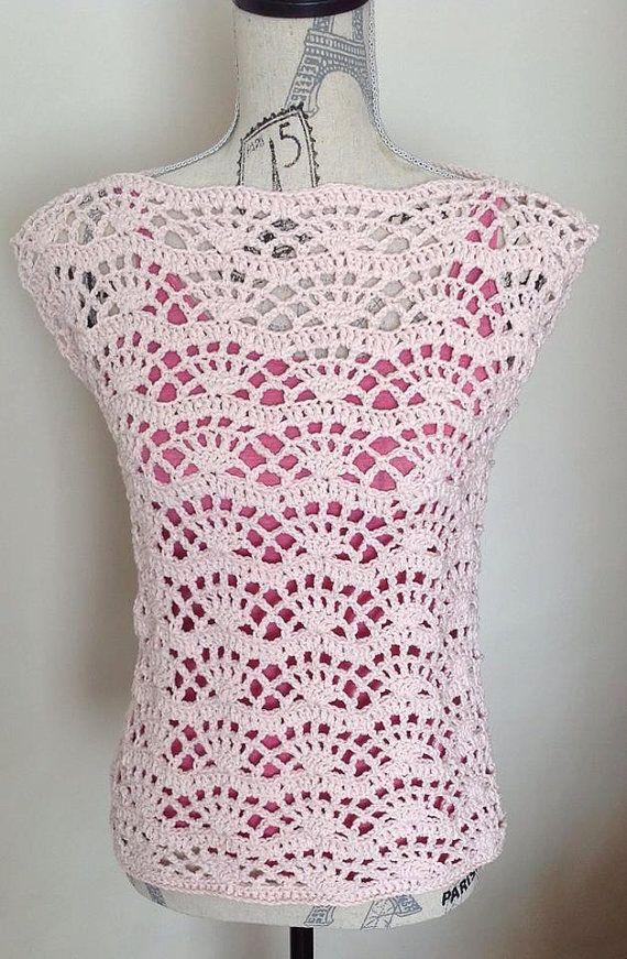 crochet tank top pattern, crochet top pattern, summer top pattern, summer crochet, crochet lace top, lace top pattern, tunic pattern