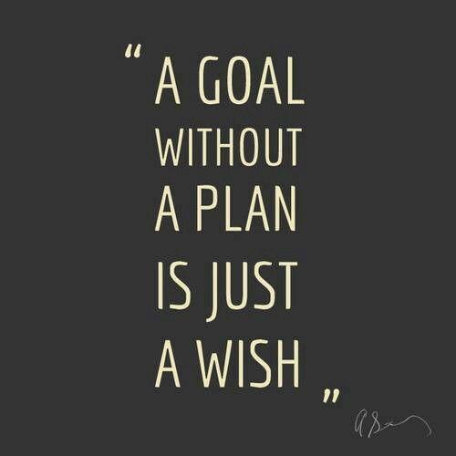 Gotta do the steps to obtain success!