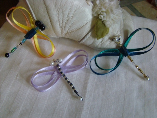 Homemade hair accessories from Cuddle Bugs & Cutie Pies, Check out my page on Facebook