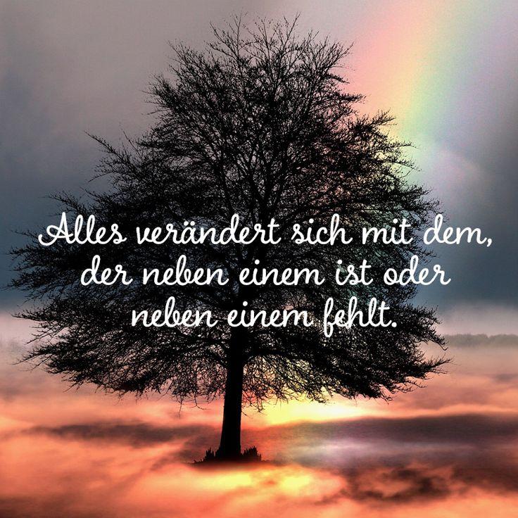 Alles verändert sich mit dem … #Trauergedicht #…